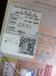Visum Japan, Aufenthaltsgenehmigung