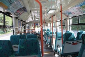 Busfahren in Japan - Städtebusse sind gute Möglichkeiten